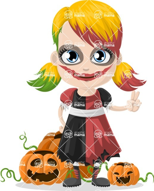 Halloween Characters Graphic Maker - pose 79