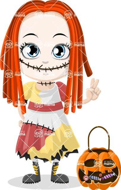 Halloween Characters Graphic Maker - pose 80