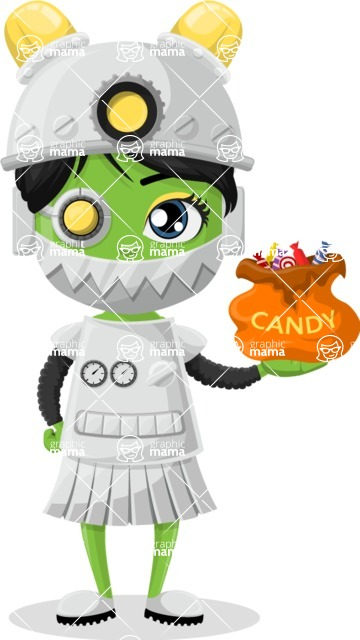 Halloween Characters Graphic Maker - pose 83