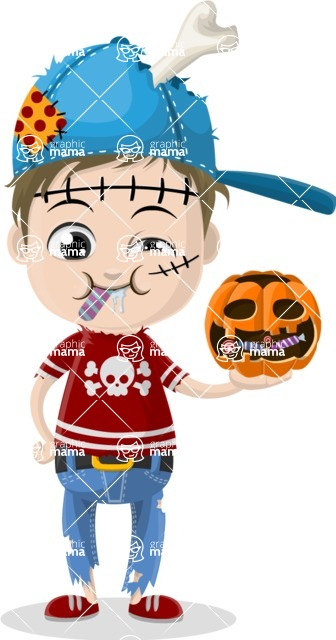 Halloween Characters Graphic Maker - pose 86