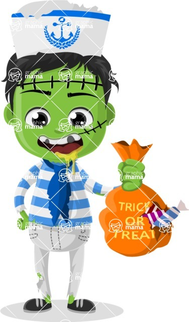 Halloween Characters Graphic Maker - pose 91