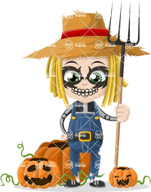 Halloween Characters Graphic Maker - pose 93