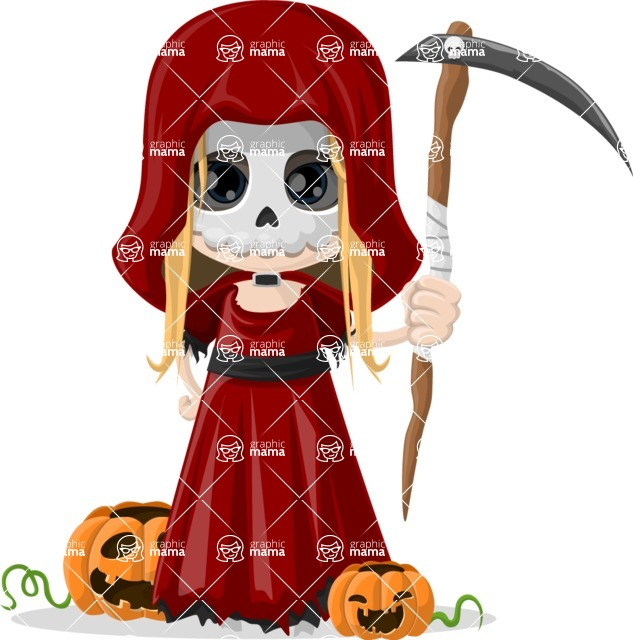 Halloween Characters Graphic Maker - pose 97