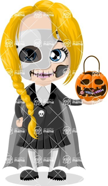 Halloween Characters Graphic Maker - pose 98