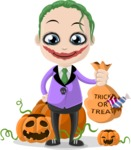 Halloween Characters Graphic Maker - pose 1