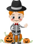 Halloween Characters Graphic Maker - pose 100