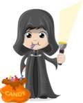 Halloween Characters Graphic Maker - pose 12
