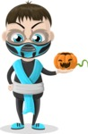 Halloween Characters Graphic Maker - pose 16