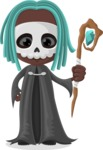 Halloween Characters Graphic Maker - pose 25