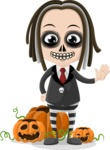 Halloween Characters Graphic Maker - pose 34