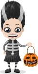 Halloween Characters Graphic Maker - pose 47