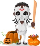 Halloween Characters Graphic Maker - pose 9