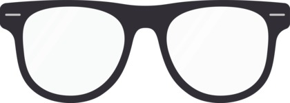 Hipster Vector Graphics - Glasses geek