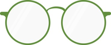 Hipster Vector Graphics - Glasses round