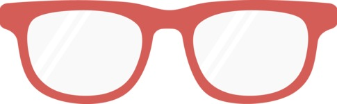 Hipster Vector Graphics - Glasses nerd