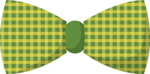 Hipster Vector Graphics - Bow tie with pattern