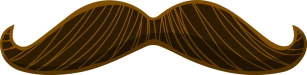 Hipster Vector Graphics - Moustache 1