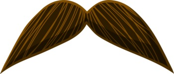 Hipster Vector Graphics - Moustache 2