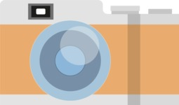 Hipster Vector Graphics - Retro camera