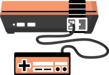 Hipster Vector Graphics - Old video game