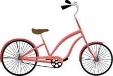 Hipster Style - Chopper bicycle