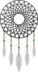 Hipster Vector Graphics - Dream catcher