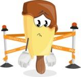 Sweet Ice Cream Cartoon Vector Character AKA Creamsy - Farming with Baby Carrots