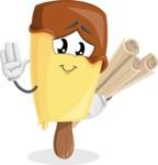 Sweet Ice Cream Cartoon Vector Character AKA Creamsy - Making Plans