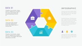 Ultimate Infographic Template Collection - Mega Bundle Part 2 - 3 Data Infographic Template