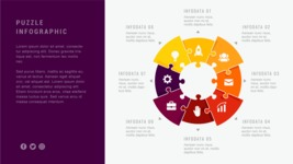 Ultimate Infographic Template Collection - Mega Bundle Part 2 - 8 Options Data Infographic Template