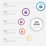 Infographic Template Collection - Business Data Visualization Template