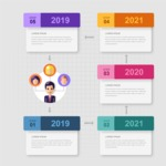 Infographic Template Collection - Infographic Template with Timeline