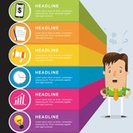 Infographic Template Collection - Infographic Template with Businessman
