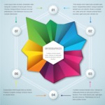 Infographic Template Collection - Colorful Corporate 3D Infographic Template