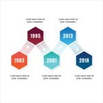 Infographic Template Collection - Abstract Timeline Infographic Template Vector Design