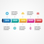 Infographic Template Collection - Milestones Graph Infographic Template