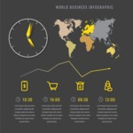 Infographic Template Collection - International Business Infographic Template