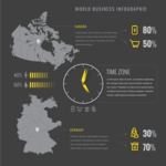 Infographic Template Collection - Demographic Profile Comparison Infographic Template