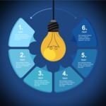 Infographic Template Collection - Light Bulb Infographic Template
