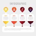 Infographic Template Collection - Multicolor Infographic Labels Template