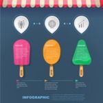 Infographic Templates Collection - Vector, Photoshop, PowerPoint, Google Slides - Food Themed Infographic Template
