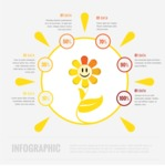 Infographic Templates Collection - Vector, Photoshop, PowerPoint, Google Slides - Sunny Weather Infographic Template
