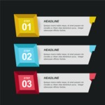 Infographic Templates Collection - Vector, Photoshop, PowerPoint, Google Slides - Modern 3D Infographic Template
