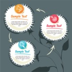 Infographic Templates Collection - Vector, Photoshop, PowerPoint, Google Slides - Circle Infographic Template