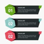 Infographic Templates Collection - Vector, Photoshop, PowerPoint, Google Slides - Modern Infographic Options Template