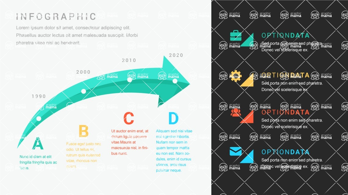 Infographic Templates Collection - Vector, Photoshop, PowerPoint, Google Slides - Template 476