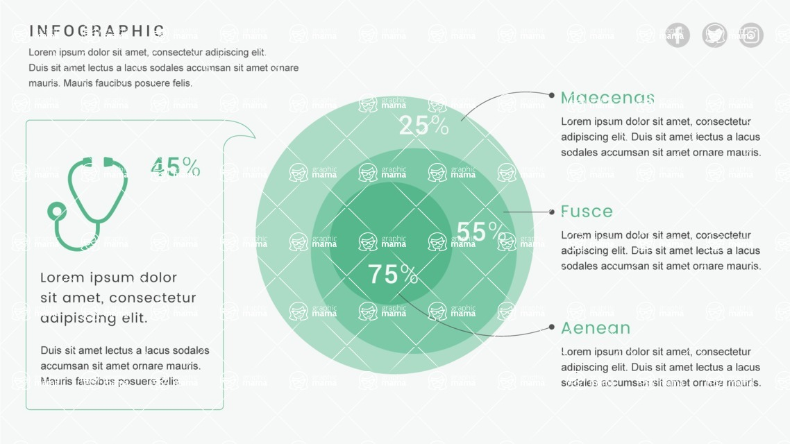Infographic Templates Collection - Vector, Photoshop, PowerPoint, Google Slides - Template 488