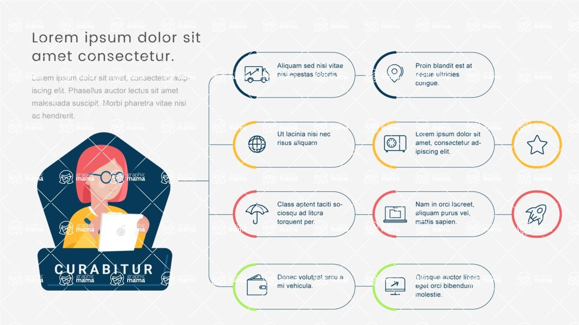 Infographic Templates Collection - Vector, Photoshop, PowerPoint, Google Slides - Template 489