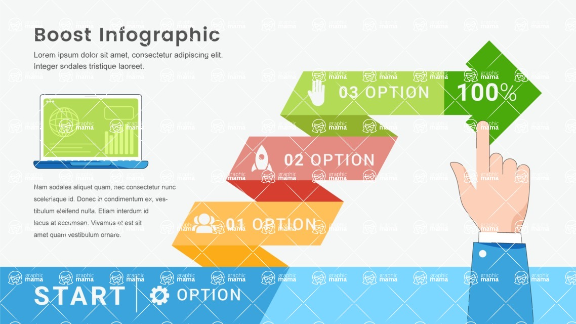 Infographic Templates Collection - Vector, Photoshop, PowerPoint, Google Slides - Template 536