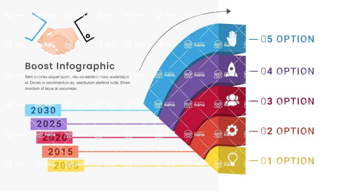 Infographic Templates Collection - Vector, Photoshop, PowerPoint, Google Slides - Template 537